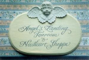 Angel's Landing - Copperplate script